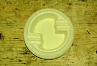 "Vintage 30s/40s RARE Carreras CRAVEN A ashtray, ""For your Throat's sake"""