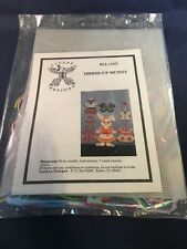 New, Luvlee Cross Stitch Kit Dress Up Bunny! Sealed! Easter LL1005 Yarn Art!