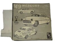 Vintage AMT 49 Mercury 3 in 1 Trophy Series 1/25th Model Car Instructions