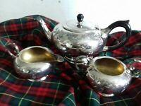 Vintage Silver Plated EPNS Tea Set