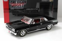 1:18 Auto World Chevrolet Chevy Chevelle Z-16 black NEW bei PREMIUM-MODELCARS