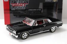1:18 AUTO World Chevrolet Chevy Chevelle z-16 BLACK NEW in Premium-MODELCARS