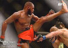 Jon Jones UFC 2015 Topps Knockout 10x14 Card #1 #/49 Jumbo Wall Art 182 172 165