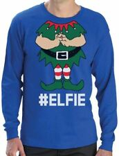 Elf Suit Funny Elfie Christmas Long Sleeve T-Shirt Gift
