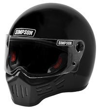 Simpson M30 Bandit Motorcycle Helmet,DOT Approved,use with,Harley,Honda,Yamaha