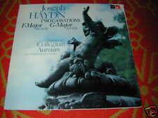 Harmonia Mundi BASF LP Haydn 2 CASSATIONS Original INSTRUMENTS Collegium Aurum