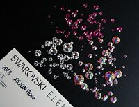 Swarovski Crystals 2058/2088 Flat Back - No Hot Fix - All Sizes and Colours