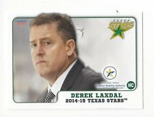 2014-15 Texas Stars (AHL) Derek Laxdal