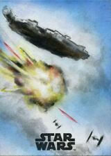Star Wars The Last Jedi Sketch Card By Huy Truong