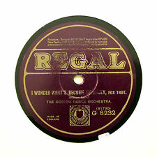 "TED LEWIS & HIS BAND ""I Wonder What's Become Of Sally"" (E) REGAL G-8232 [78 RPM]"