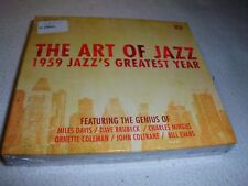 The Art Of Jazz - 1959 Jazzs Greatest Year Box-Set - 3 CDs - OVP