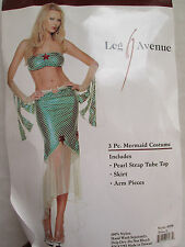 Leg Avenue Sexy MERMAID Womens L Halloween Dress-Up Costume NEW