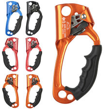 Right/Left Hand Ascender Rock Climbing Mountaineering Rappelling Gear Equipment