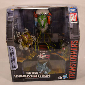 Transformers War for Cybertron Trilogy Quintesson Pit of Judgement 5 Pack CIB
