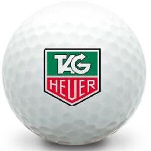 (3-Ball Gift Pack) Tag Heuer LOGO Topflite Mint AAAAA Golf Balls #1 Ball