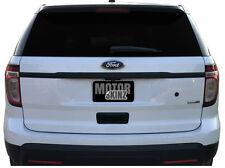 2011-2015 Ford Explorer Rear Chrome Trim Blackout Precut Vinyl Decal Overlay