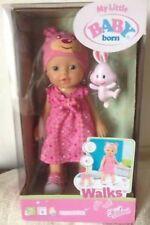 Zapf Creation My Little Baby Born Walks - talking Interactive Doll BNIB RRP £34