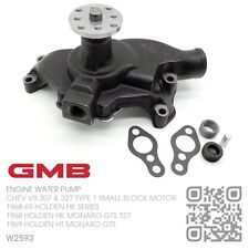 GMB WATER PUMP CHEV V8 307 SMALL BLOCK [HOLDEN HK SERIES & MONARO GTS]