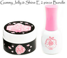 Exclusive Nail Couture Gummy Jelly UV/LED Gel & ShineE Gel Top coat set Genuine