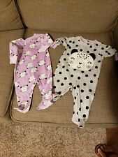 Bundle of 13 pcs of Newborn baby girl clothes 0-3 months