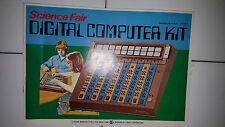 Vintage Radio Shack Tandy Science Fair Digital Computer Kit Unplayed