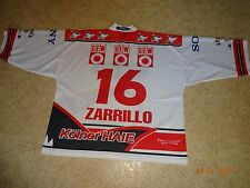Kölner Haie KEC Russell Athletic Eishockey Trikot 1999/00 + Nr.16 Zarillo Gr.XXL