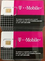 T-MOBILE PREPAID. PRE-ACTIVATED on plan $3/month. 3 IN 1 sim card