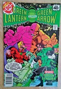 DC Comics Green Lantern Co Starring Green Arrow #111 Dec 1978 good