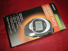 Omron HR100CBX Heart Rate Monitor New Open Box NEEDS NEW BATTERIES