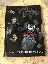 Living Dead Dolls JOURNAL Diary LOCK & KEYS Rare