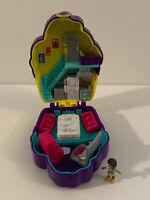 "Polly Pocket Tiny World Compact Camping 1.25/"" doll campfire telescope NEW"