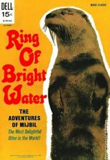 Ring of Bright Water Movie Classics #910 VG- 3.5 1969 Stock Image Low Grade
