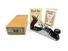 Boxed Stanley USA G4 Gage Iron Plane Circa 1930-1941