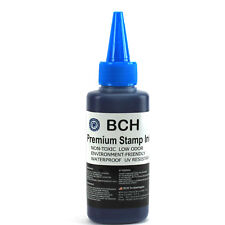 2.5 oz Stamp Refill Ink for Stamps or Stamp Pads BLUE