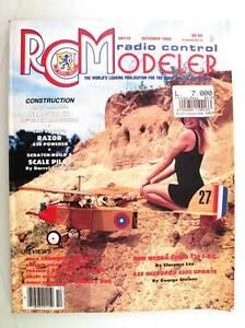 Radio Contrôle Modeleur Magazine October 1992 Anglais Modélisme