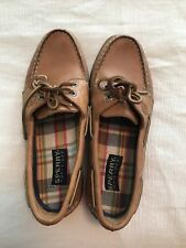 Sperry womens Brown boat shoes sz 7