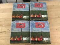 Vintage Improve Your Golf Collection of 4 Golf Books Binders 1,2,3 And 5