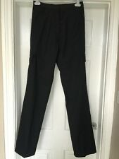 BNWT Haywood TL45 Work Nurses Carer Cargo Trousers in Black Size 18 X 32L