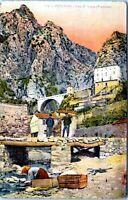 1910 MENTON FRANCE Pont S' Louis Louis Bridge Postcard DB