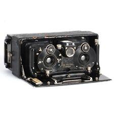 :ICA Stereolette (611) Stereo Plate Folding Camera w/ 60mm f6.3 Doppel Lens