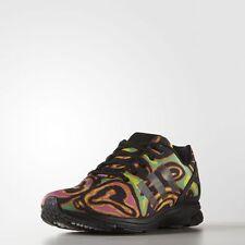 524eb3378 Adidas Originals Jeremy Scott ZX Flux Tech Psychedelic Shoes Size 7 us  S77841