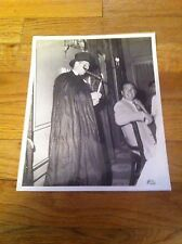 Vintage Unknown Magician Magic Black & White Photo Ephemera Rorabaugh & Millsap