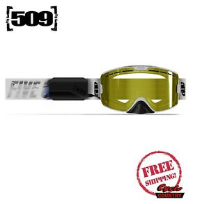 509 KINGPIN IGNITE WHITEOUT SNOWMOBILE GOGGLE POLARIZED YELLOW TINT