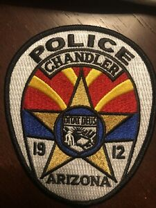 Arizona  Police - ChandlerPolice  AZ  Police  Patch