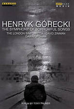 GORECKI: THE SYMPHONY OF SORROWFUL SONGS NEW DVD