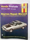Honda Prelude 1979 to 1989 Haynes Service Shop Automotive Repair Manual # 42040