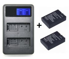 Bateria EN-EL14 1500 mAh para Nikon d5300 d5200 d5100 d3300 d3200 d3100 p7100 p7