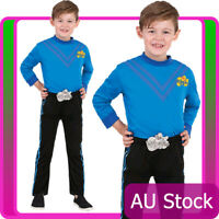 Licensed Anthony Blue The Wiggle Child Boys Kids Book Week Party Wiggles Costume