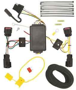Trailer Wiring Harness Kit For 10-17 Chevy Equinox GMC Terrain All Styles T-One