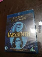 *BRAND NEW & SEALED*  LABYRINTH  BLU-RAY [UK] DAVID BOWIE / JENNIFER CONNELLY